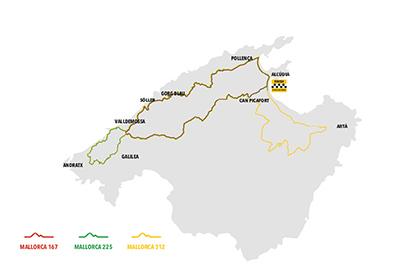 Cortes de tráfico en una treintena de municipios por la carrera ciclista Mallorca 312