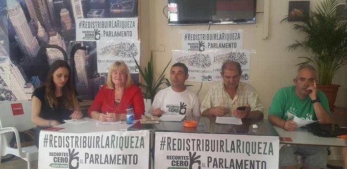 Recortes Cero–Grupo Verde presenta en Palma su programa de