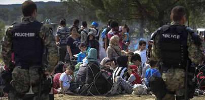 Los 12 primeros refugiados llegan a España