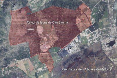 Declarado en Alcúdia el refugio de fauna privado más grande de Mallorca
