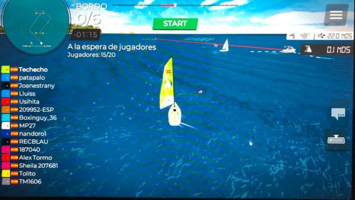 El Club Nàutic de s'Arenal organiza regatas virtuales