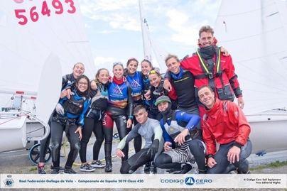Regatistas del Club Nàutic s'Arenal participan en el Campeonato de España de 420