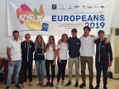 Arranca el Campeonato Europeo de RS:X en el Club Nàutic S'Arenal