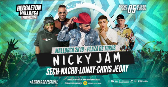 Palma, capital del reggaeton el 5 de julio