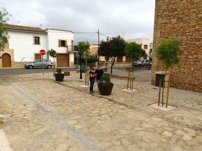 Santanyí inaugura las obras de remodelación de diversas calles de Calonge