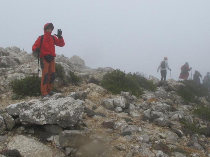 Una médico mallorquina con cáncer recorre los 110 kilómetros de Serra en cinco días