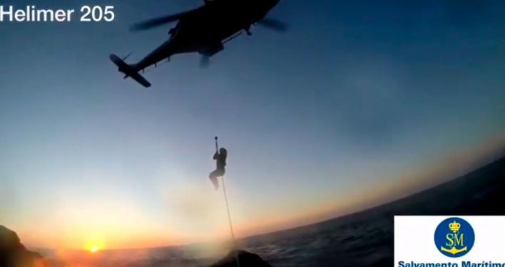 Rescatan a una pareja atrapada en los acantilados del Port de Valldemossa