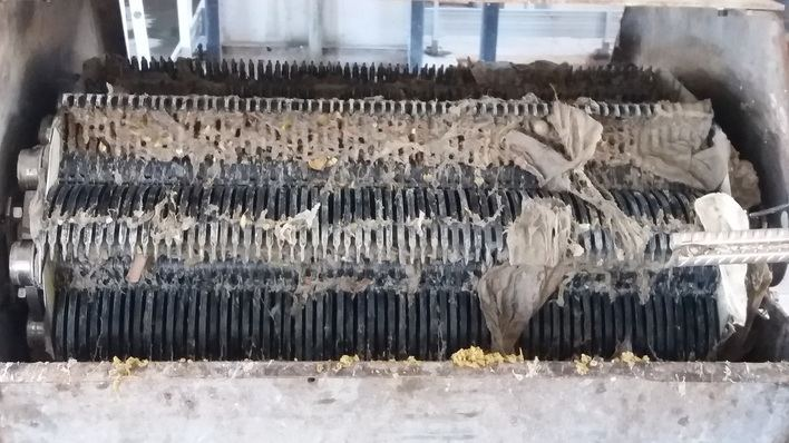 540.000 euros para evitar los atascos de la depuradora de Santa Ponça a causa de las toallitas