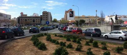 Críticas a Cort por las obras que afectan a la Autovía de Llevant