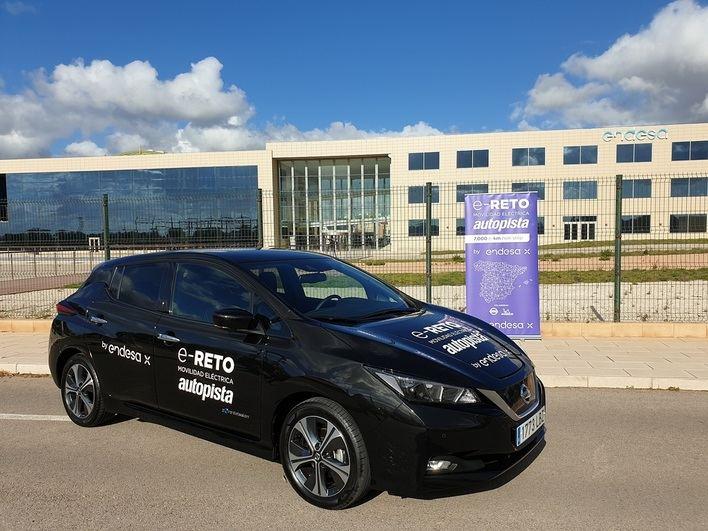 Arranca en Mallorca el e-Reto de Endesa: recorrer la península en coche eléctrico en 7 días