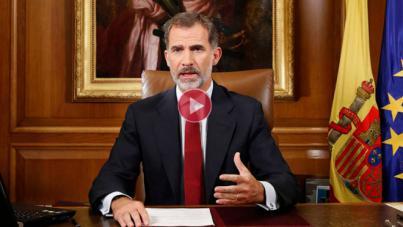 Nuevo llamamiento del Rey a la unidad de España: