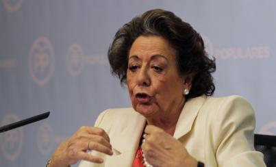 Rita Barberá deja el Ayuntamiento de Valencia