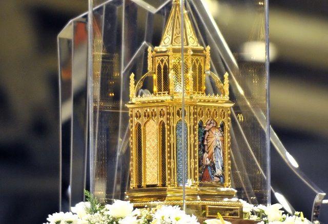 Mallorca recibe las reliquias de Santa Bernadette