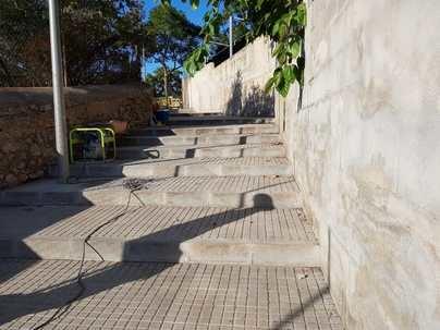 Cort abre un acceso directo a la calle Joan de Saridakis de Cala Major