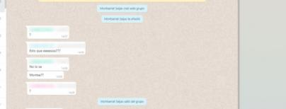 Montse Seijas la lía con los grupos de WhatsApp