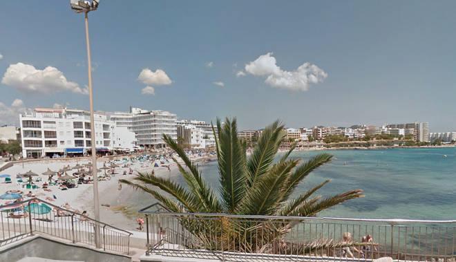Día de playa en la zona