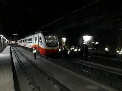 Simulacro de descarrilamiento ferroviario en Palma