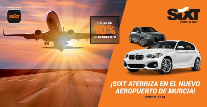 Sixt inaugura su nueva sucursal en el aeropuerto de Murcia