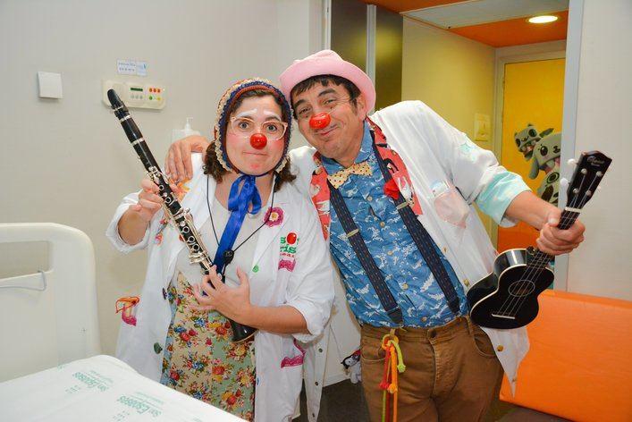 'Ahora los payasos forman parte del engranaje hospitalario en Baleares'