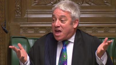 El presidente del Parlamento británico se niega a votar otra vez 'el mismo acuerdo' del Brexit