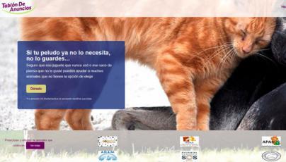 Tablondeanuncios.com habilita una opción para donar artículos de mascotas a refugios