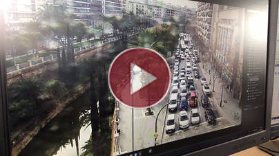 Los taxistas colapsan Palma