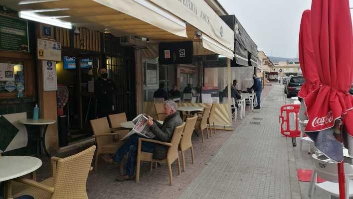Vuelven las terrazas a Mallorca