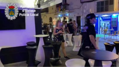 La Policía Local de Ibiza interpone 62 denuncias por no llevar mascarilla