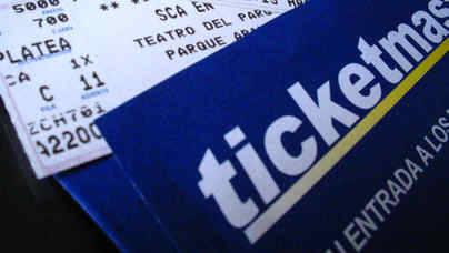 Ticketmaster revende entradas al triple de su precio