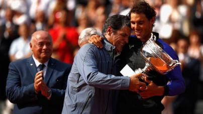 Toni Nadal: 'Fui una dificultad para Rafa, a veces demasiado duro'