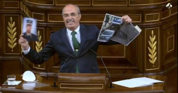 Salvá (Vox), padre de un guardia civil asesinado por ETA: 'Esto sí que es robar una vida'
