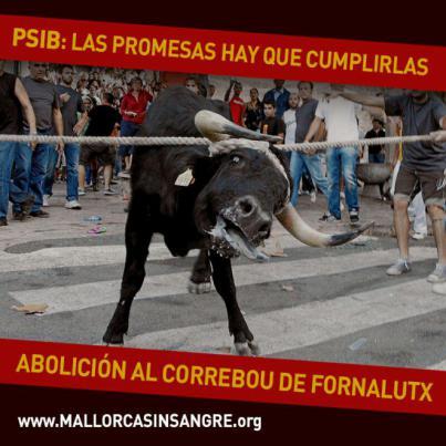 Un director de cine pinta el toro Osborne de Mallorca