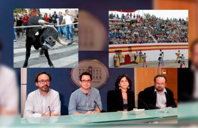 Condenado un aficionado taurino por patear a un activista en Alcúdia