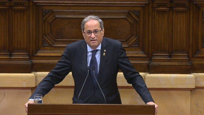 Torra: 'Habrá que volver a poner urnas para la autodeterminación'