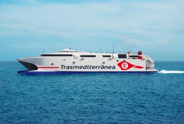 Trasmediterránea cubrirá la línea Gandía-Ibiza-Palma con el buque de alta velocidad