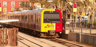 Retrasos de 40 minutos en el tren por una nueva avería en la fibra óptica