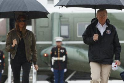 Trump donará un millón de dólares para las víctimas de Harvey