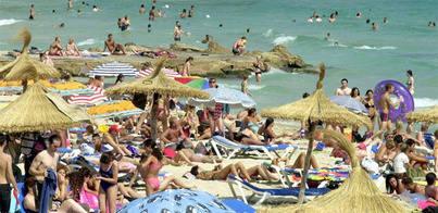Los turistas extranjeros gastan este año un 8,4% más en las Islas Baleares