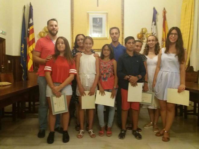 Santanyí premia a los mejores estudiantes del municipio