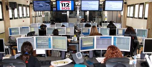El 59% de los ciudadanos considera eficaz el trabajo del 112