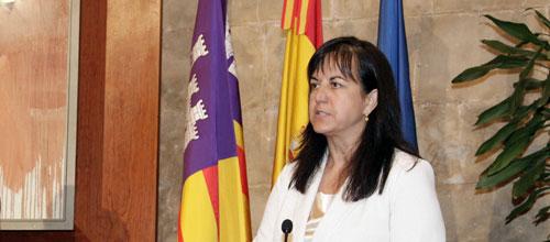 La consellera de Salut, Carmen Castro, se estrena en Ibiza