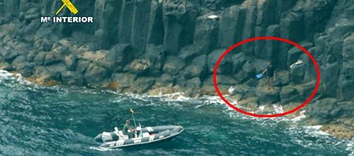 Desarticulada una red que ocultaba cocaína en acantilados de Baleares