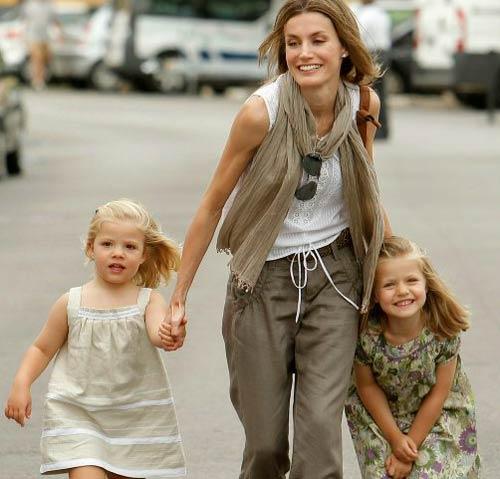 La Princesa Letizia pide consejo a 'Supernany'