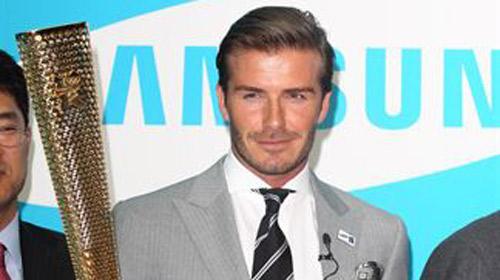 Beckham, el elegido para Londres 2012