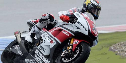 Jorge Lorenzo queda sexto en Holanda tras caer en la primera curva