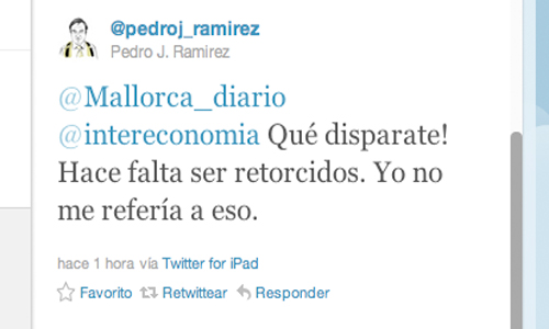 Pedrojota llama retorcidos a Intereconomía por sus insinuaciones
