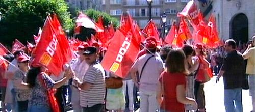 Más de 250 delegados de UGT y CC OO exigen una huelga general europea