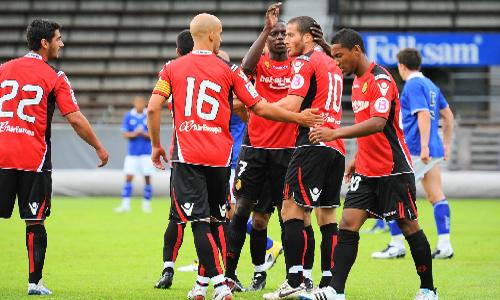 Hemed se estrena en el 1-1 del Mallorca ante el Leicester
