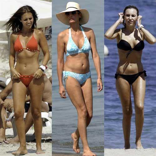 Los trucos de las famosas para lucir en bikini