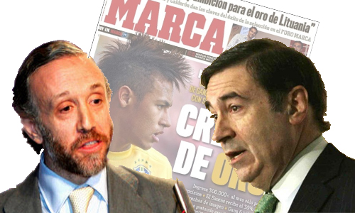 """Pedrojota y su equipo añoran """"espectáculo"""" en las portadas de Marca"""
